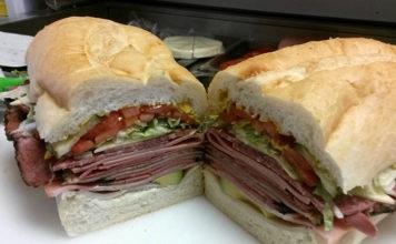 That Sandwich Shop - stacked sandwiches (That Sandwich Shop)