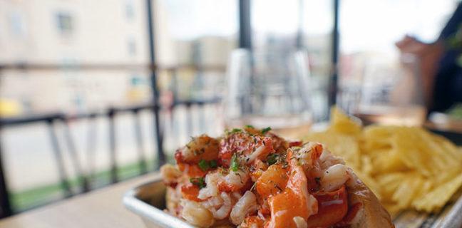Lobster Roll at Freshies in Park City Utah
