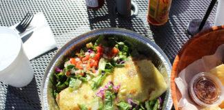 Yoyi's Mexican Grill - burrito