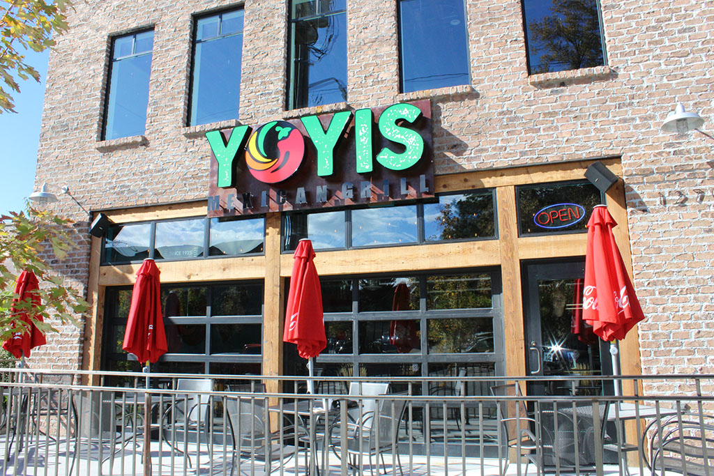 Yoyi's Mexican Grill - exterior