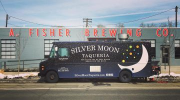 Silver Moon Taqueria food truck at Fisher Brewing (Silver Moon Taqueria)