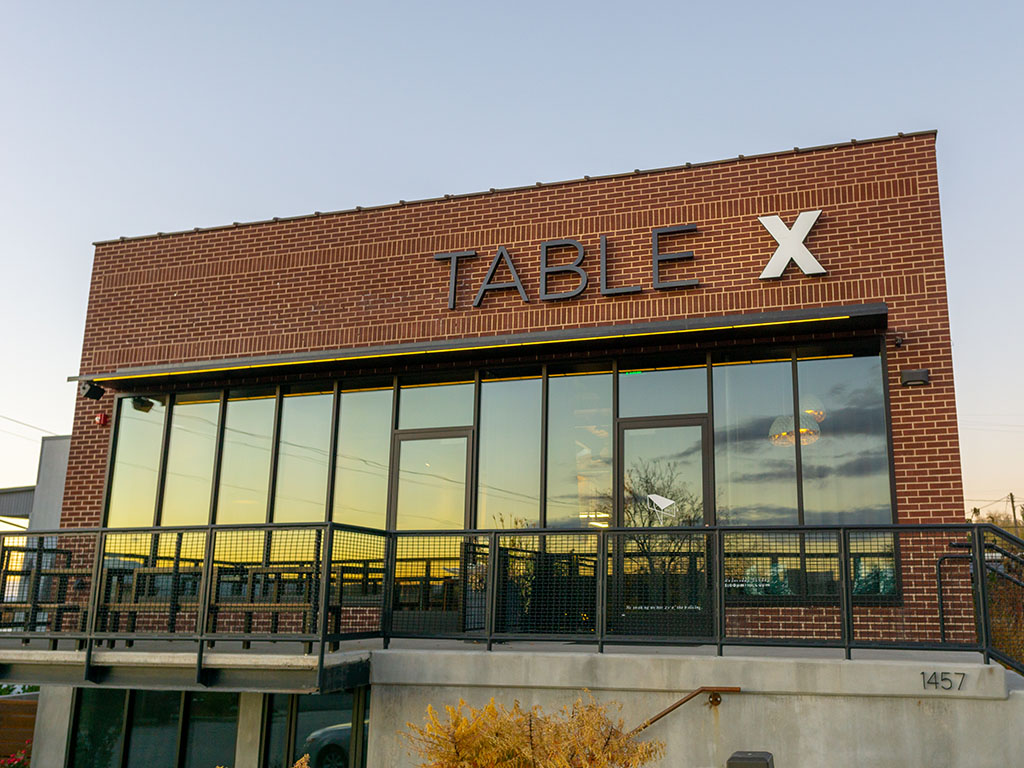 Table X exterior