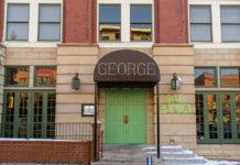 George restaurant exterior