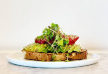 Cotton Kitchen - avocado toast (Cotton Kitchen)