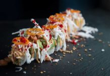 Russels Fish Taco (Five Sushi Brothers)