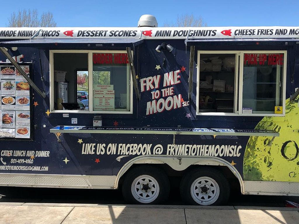 Fry Me To The Moon food truck