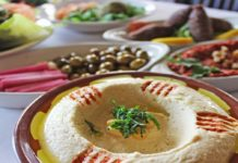 Hummus (Pasha Middle Eastern Cuisine)